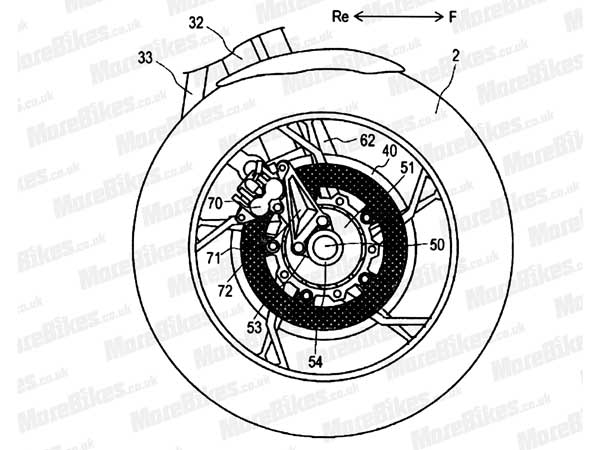 Yamaha Patents The Designs Of Its Two Wheel Drive Bike