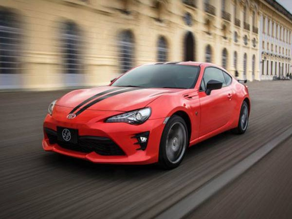 2017 Toyota 86 Sports Coupe 860 Special Edition Revealed