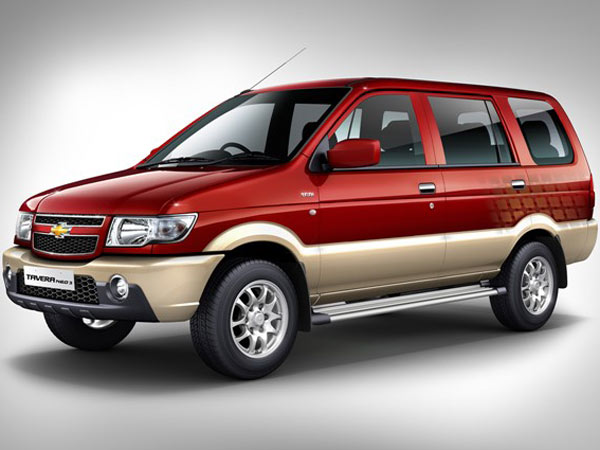 Chevrolet Tavera, Sail & Enjoy To Be Discontinued