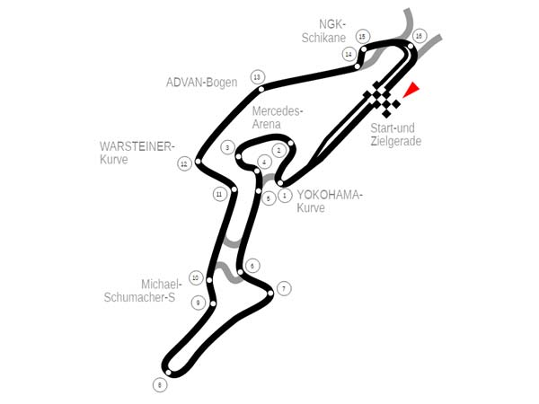 Nurburgring Lap Time Record Competition Proposed By James
