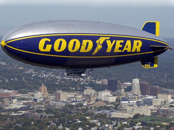 Goodyear Bids Goodbye To Blimp; Zeppelin Is On Its Way