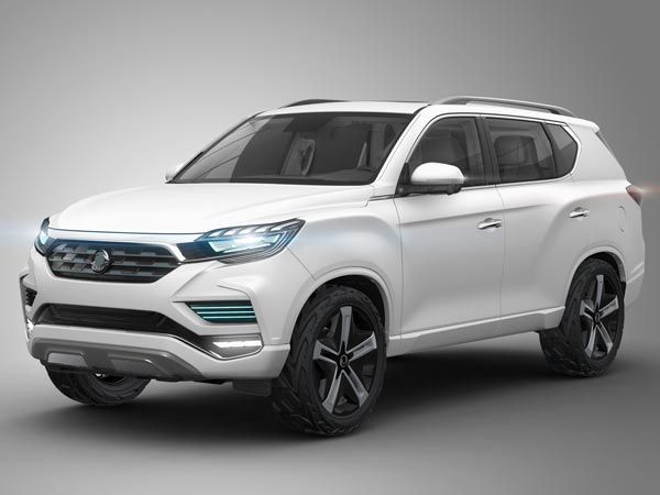 Next-Generation SsangYong Rexton Official Sketches Revealed