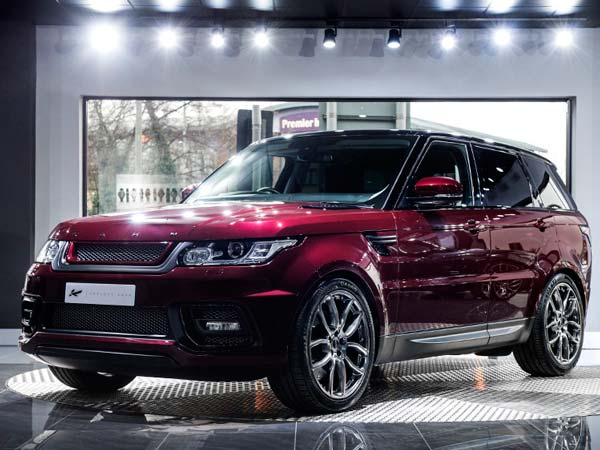 Montalcino Red Range Rover Sport By Kahn Design