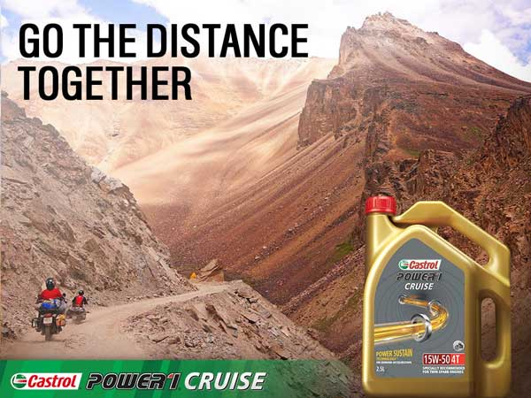Castrol India Launches New Engine Oil For Cruiser Motorcycles