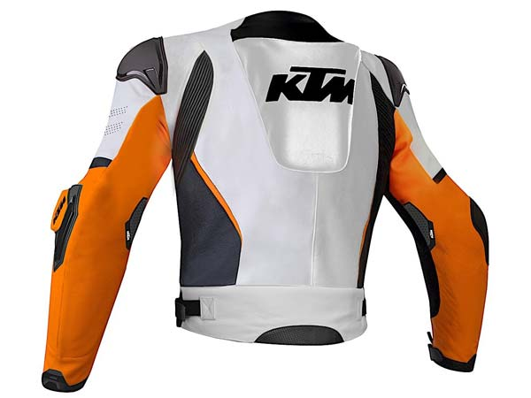 ktm lets you customise your leather rider gear - drivespark