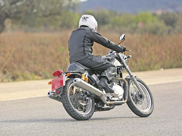 Image result for Twin Cylinder Royal Enfield Bike Spotted Testing