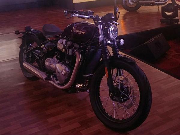 Triumph Bonneville Bobber Launched In India Launch Price