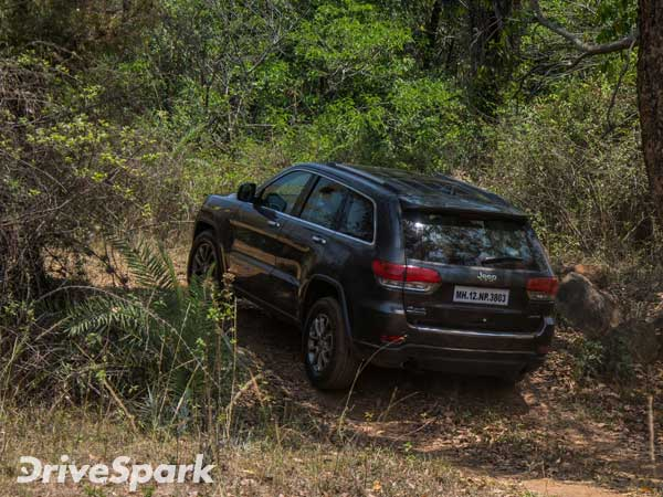 Jeep grand cherokee off road review