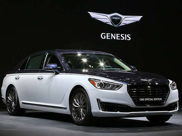 Hyundai Showcases The Genesis G90 Special Edition At Seoul