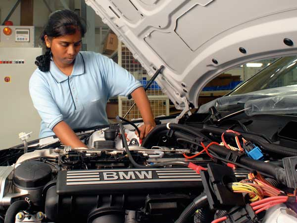 The Chennai Plant Of The German Luxury Car Maker Has Two Assembly