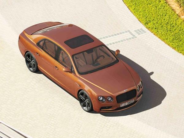 Bentley Flying Spur 7 Billion Pixel Image Dubai