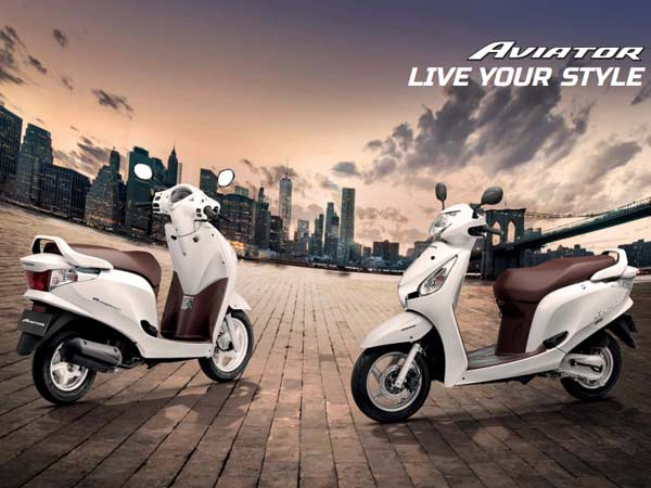 Honda Aviator BSIV Launched In India; Priced At Rs 52,077