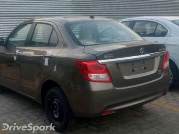 New Maruti Suzuki Swift Dzire (2017 Model) Spied - DriveSpark