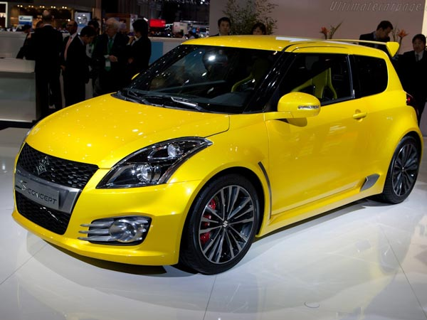 Next Generation Suzuki Swift Sport Will Lose Some Weight