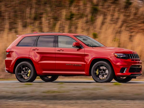 Jeep Grand Cherokee Trackhawk With 707bhp Revealed Drivespark News