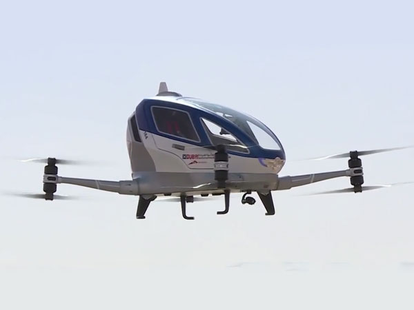 Dubai To Launch Self-Driving Flying Taxis By July 2017
