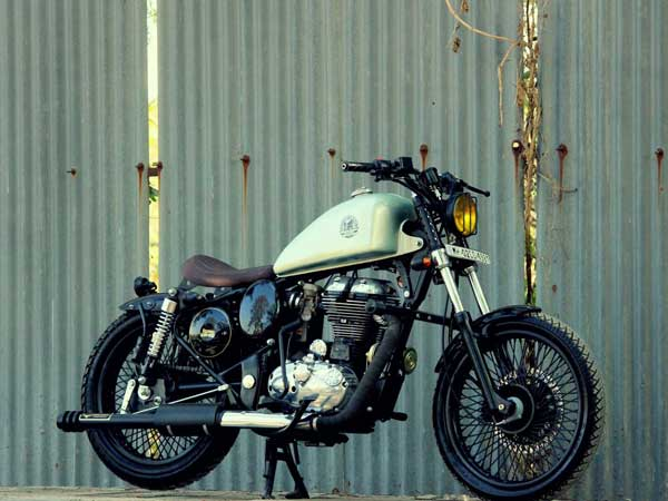 Royal Enfield Classic Bobber By Jedi Customs