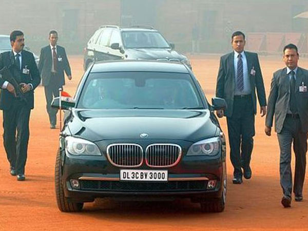 Modi New Car Range Rover