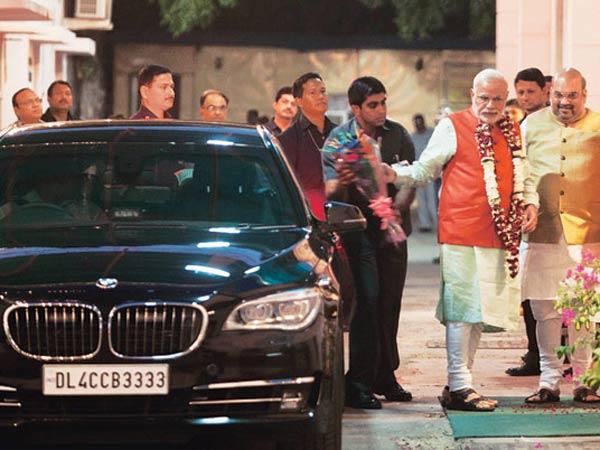 Modi Bmw Car Price