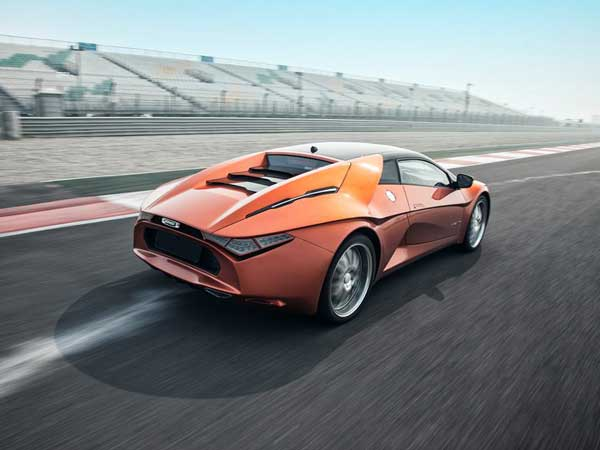 DC Avanti Sports Car Bought And Registered In The UK
