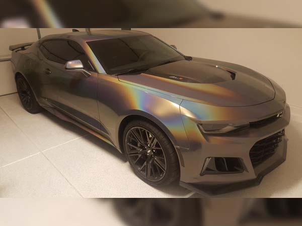 Camaro Zl1 Owner Wraps His Car With 3m Gloss Flip