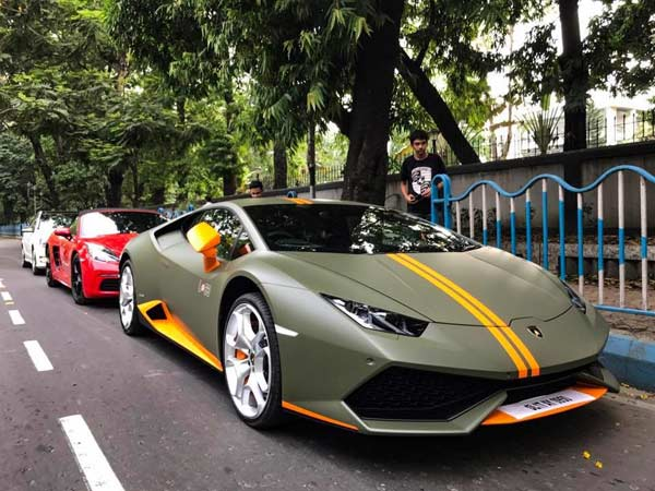 Lamborghini Huracan Avio Makes Its Way To Kolkata Drivespark News