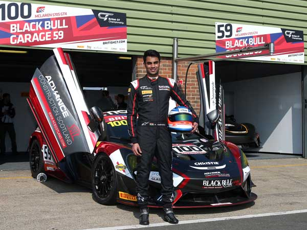 Indian Racer Akhil Rabindra Secured Podium In His Debut At The British GT Championship