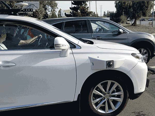Apple Self-Driving Car Spotted Testing In California - DriveSpark