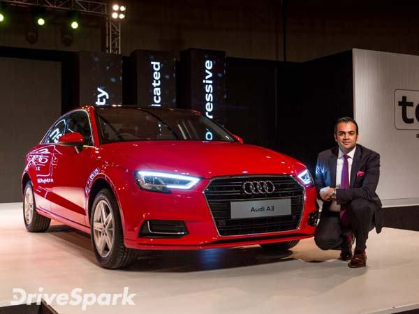 Audi car starting prices in india