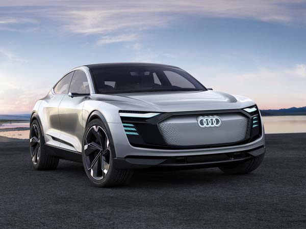Audi e-tron Sportback Concept Debuts At 2017 Shanghai Motor Show