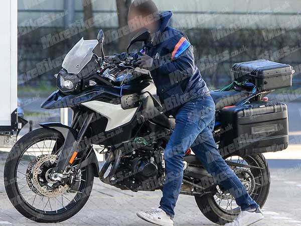 New BMW GS Adventure Model Spied — The New BMW F 900 GS?