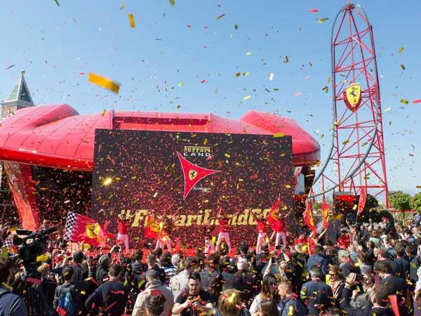 Ferrari Opens Second Theme Park — Reveals Blisteringly Quick Roller Coaster