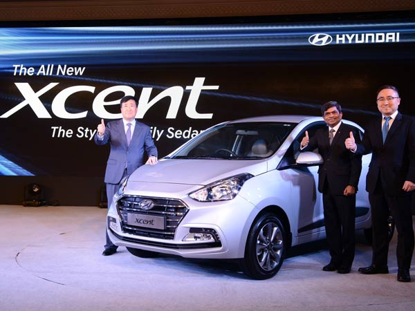 2017 Hyundai Xcent Launched In India; Prices Start At Rs 5.38 Lakh