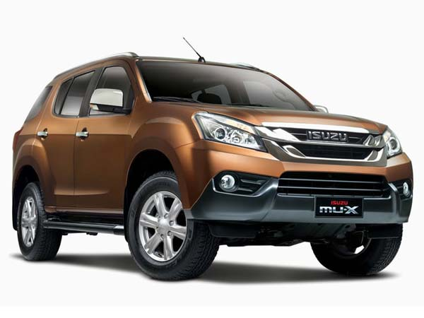 Isuzu Mu X Manufactured In India