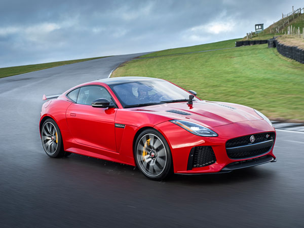 Hear The Growl Of The New Four-Cylinder Jaguar F-Type