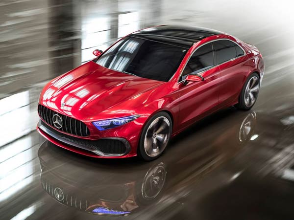 Mercedes-Benz Concept A Sedan Revealed — The Future Of A-Class Sedan?