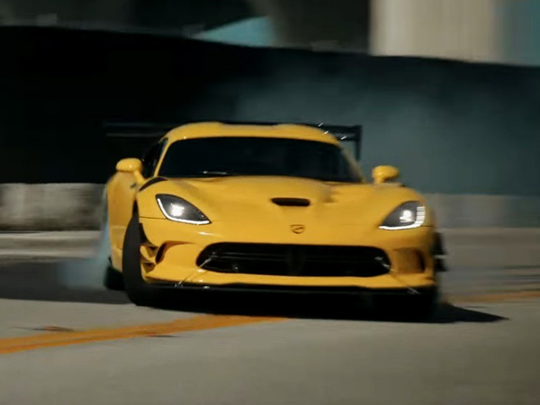 Watch Pennzoil Bid Farewell To The Iconic Dodge Viper