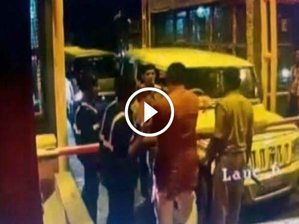 Tired Of Waiting, BJP MLA Thrashes Toll Booth Employee — Caught On Tape