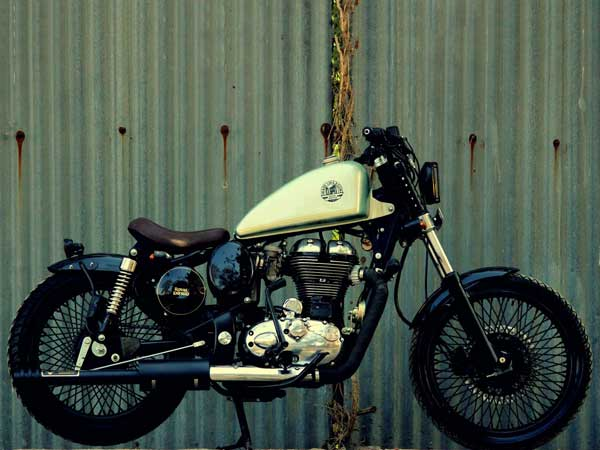 Royal Enfield Classic Bobber By Jedi Customs — Blast From The Past!