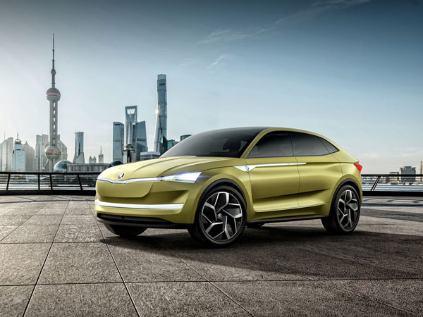 Skoda Vision E Crossover Coupe Revealed Ahead Of Auto Shanghai