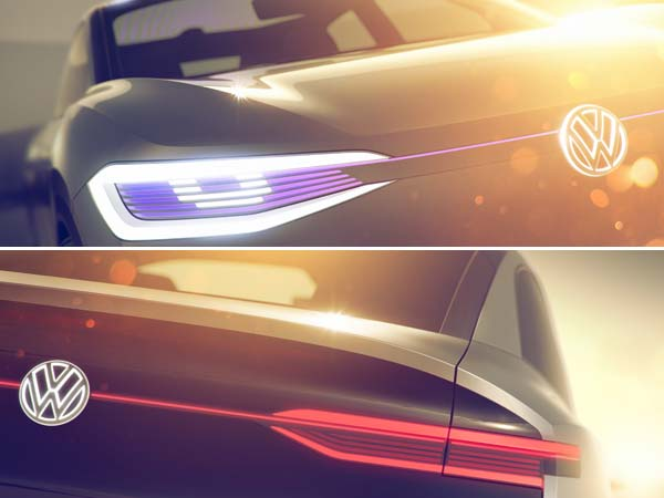 Volkswagen I.D Crossover Teased Ahead Of Shanghai Auto Show Reveal