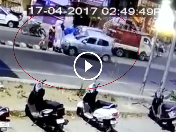 Woman Runs Over 5 Pedestrians, Kills Two — Chilling Accident Caught On Tape