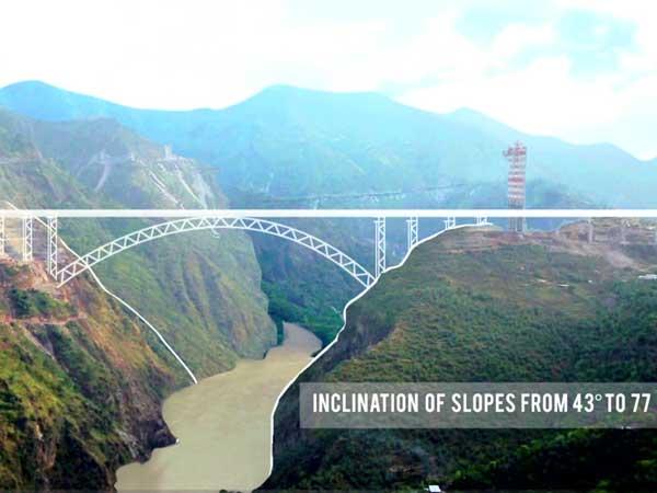 World S Highest Bridge Being Built In Jammu And Kashmir