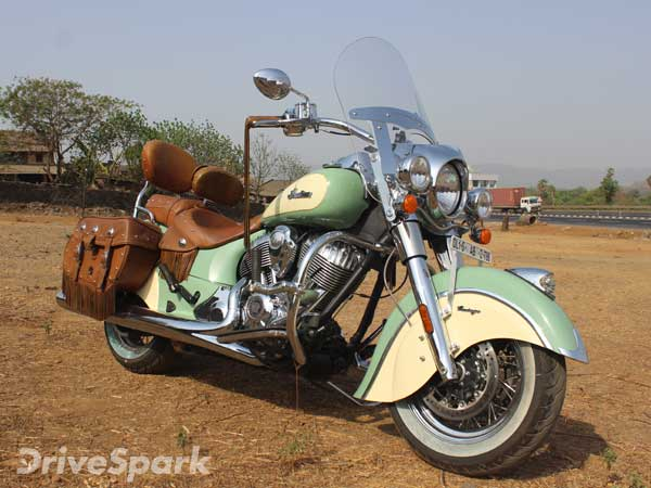 2016 Indian Chief Vintage: First Ride Review - DriveSpark Reviews