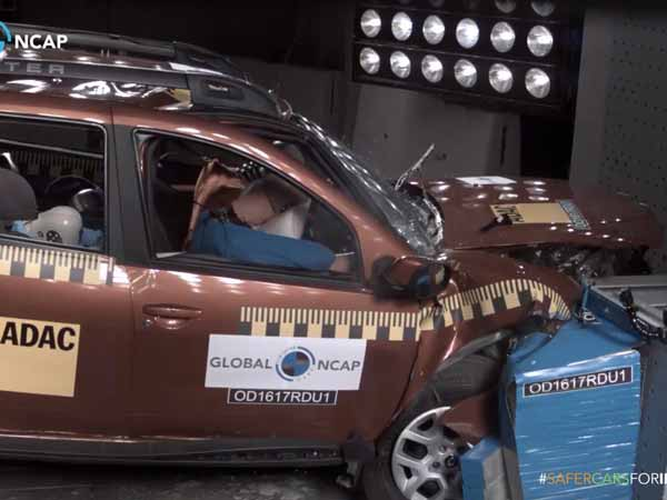 renault duster scores zero star rating in global ncap crash test drivespark. Black Bedroom Furniture Sets. Home Design Ideas