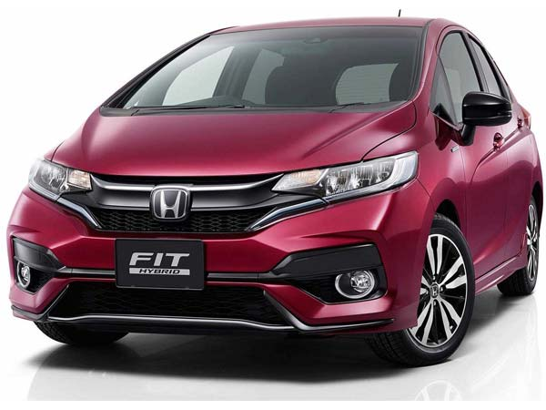 New Honda Jazz 2017 Facelifted