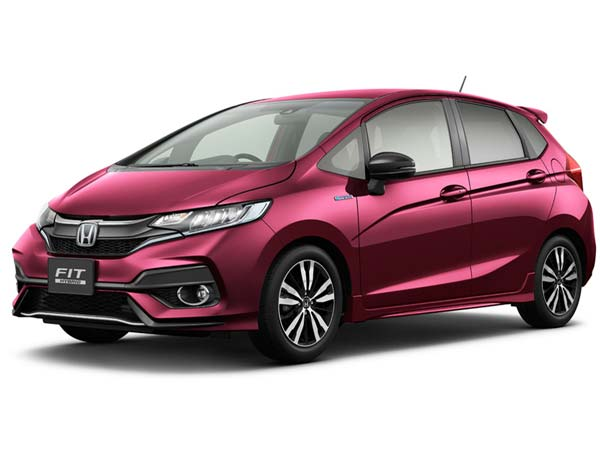Honda Jazz Facelift Officially Unveiled in Japan
