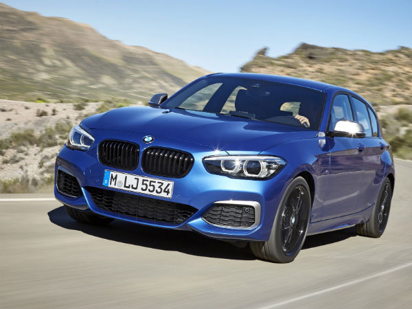 Watch 2017 Bmw 1 Series Facelift Race A Drone In Launch Film