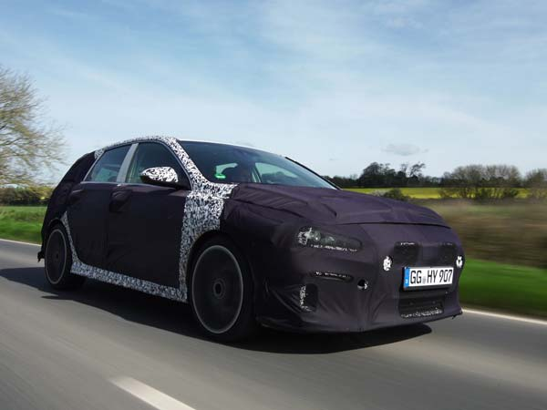 Hyundai i30 N Teased Ahead of Launch Later This Year
