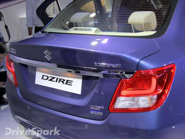 Maruti Suzuki Dzire Launched In India; Launch Price, Mileage, Specifications And Images